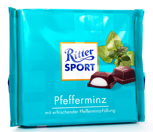 Ritter Sport Peppermint Packaging