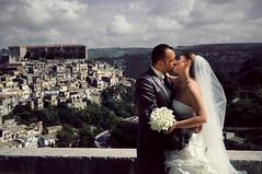 Love Forever (Davil27) Tags: wedding portrait art love landscape la nikon kiss arte romantic davide ritratto amore romantico matrimonio rocca bacio ragusa d300 d300s