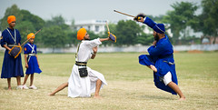 Taksali Superheroes (gurbir singh brar) Tags: india training nikon action spirit traditional martialarts warrior practice sikhs punjab academy stickfighting trainer punjabi sparring turbans expert khalsa ustad gatka nikkor85mmf14 nihang nihangs damdamitaksal mastuanasahib shastarvidya ਪੰਜਾਬੀ gurbirsinghbrar savalakhfoundation babaharneksingh ਖਾਲਸਾ ਸਿੰਘ ਨਿਹੰਗਸਿੰਘ सिख ਯੋਧਾ ਨਿਹੰਗ ਖਾਲਸਾਈਬਾਣਾ ਬਾਣਾ gurbanisanthya babajasvirsingh