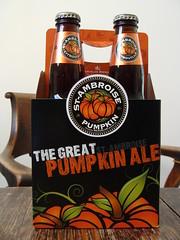 St Ambroise Pumpkin Ale (knightbefore_99) Tags: canada halloween beer dark pumpkin bottle quebec cerveza spice ale craft bier camra pivo citrouille stambroise