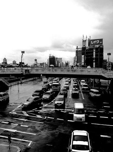 今日の写真 No.38 – 雨のステイション/iPhone4 + Spica