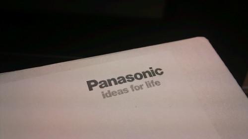 Panasonicからお届けもの