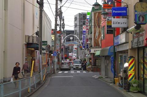 読売ランド前 西生田商店街