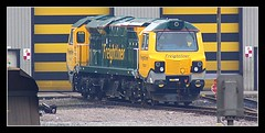 And Then There Was 7................... (96tommy) Tags: road new electric power general diesel leeds class depot locomotive ge 70 freight picnik midland haul freightliner 70007 powerhaul