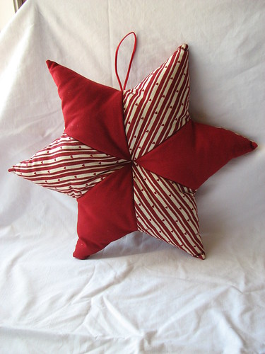 Christmas Star Pillow