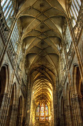 San Vito cathedral. Prague. Catedral de San Vito. Praga