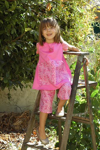 Carefree Clothes for Girls Apron and Pants