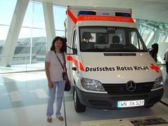 Mercedes-Benz Museum (Ilia Goranov) Tags: car museum germany deutschland mercedes stuttgart mercedesbenz vehicle ambulanz ambulanza автомобил музей кола германия мерцедес мерцедесбенц щутгарт