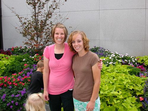 Oct 5 2010 Kristin Jaussi and Ruth Temple Square