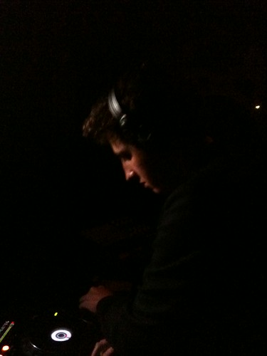 Jamie XX DJing at Voyeur, Philly