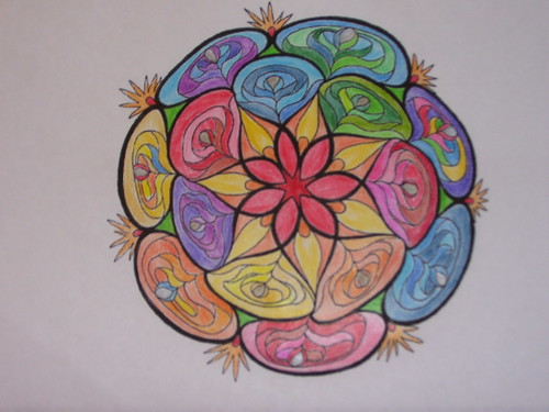 10/11/2010 mandala coloring