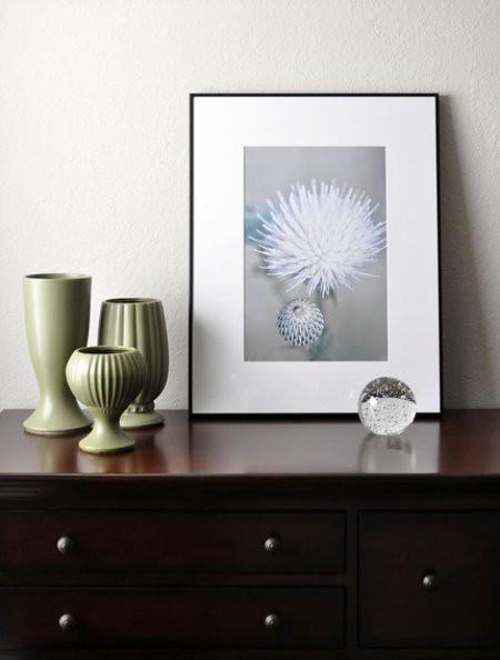 Thistle Flower Print