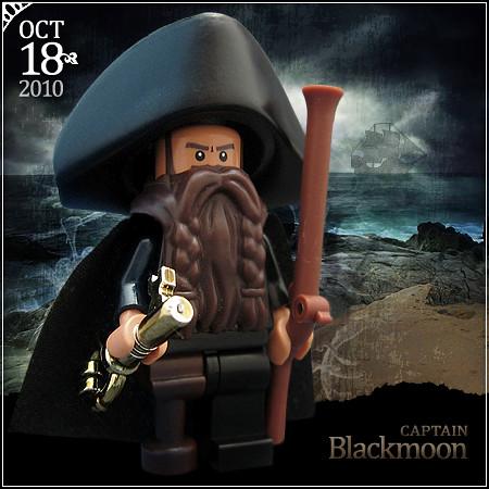 October 18 - Captain Blackmoon