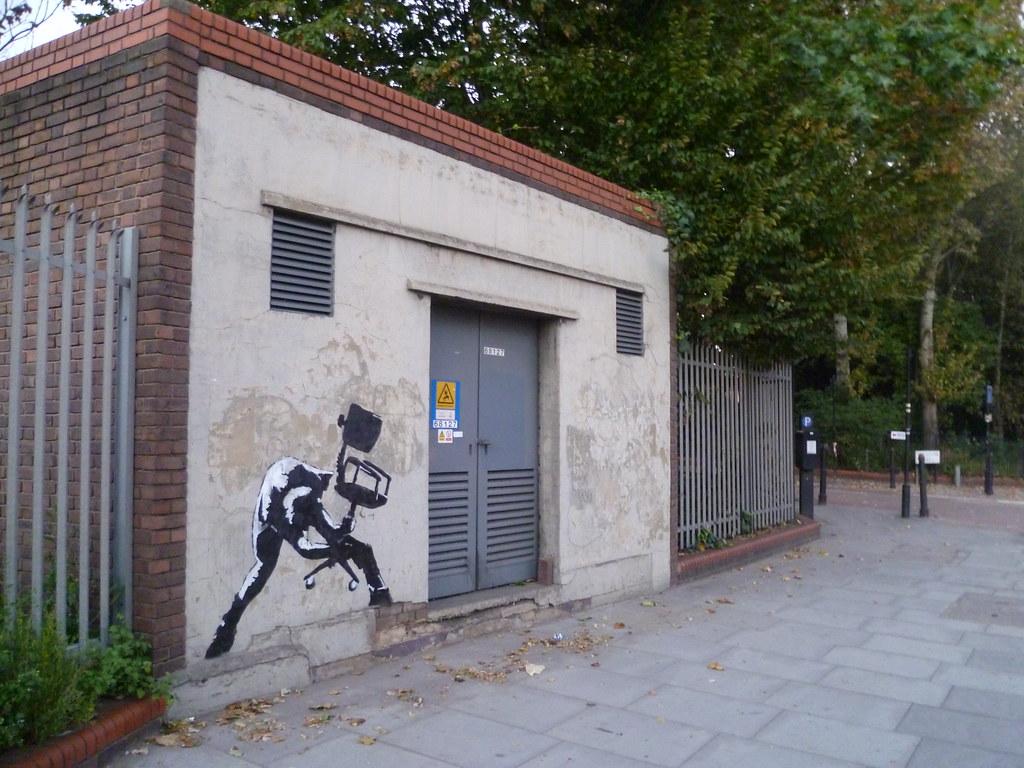 Banksy - Clash