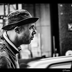 Milano dude (Pipo con Pasta) (Pjotre7 (www.maartenvandevoort.nl)) Tags: street city travel light portrait urban bw italy abstract black milan art dutch hat photoshop silver photography photo crazy model italia mood foto fotografie dof milano dude milaan story portraiture nik weirdo cinematic italie 2010 filmic mental restless melancholic potret filmisch efex hx1 stphotographia sonyhx1 pjotre7 pipoconpasta