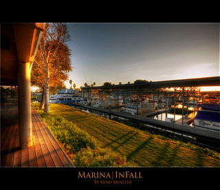 Marina In Fall, Discovery Bay California (HDR)