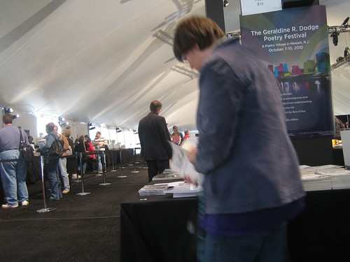 at Dodge Book tent
