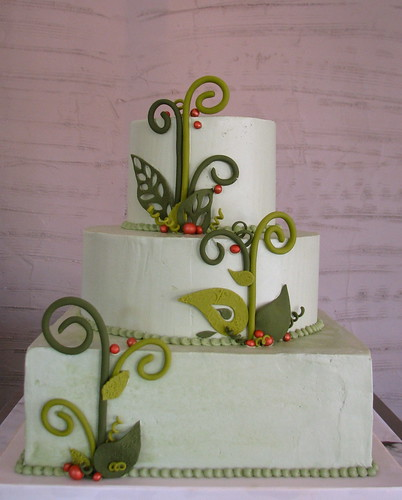 Lacy Leaf Cake