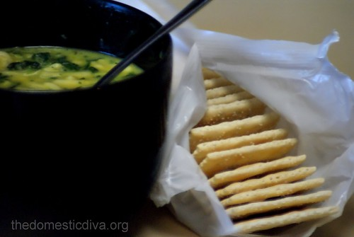 Soup and Saltines