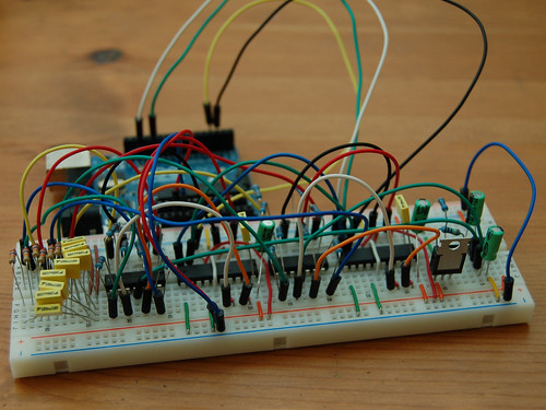 Octomod Breadboard
