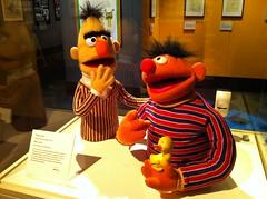 (theres no way home) Tags: chicago art design puppet muppets bert exhibit ernie retrospective career museumofscienceandindustry jimhenson jimhensonsfantasticworld