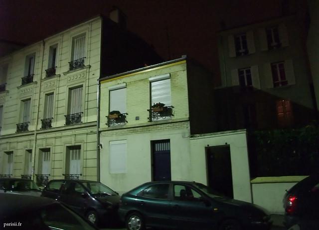 Petites maisons à Paris