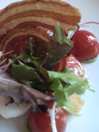 Burrata tomatoes salad @dragocentro