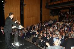 Κώστας Γκιουλέκας στην ομιλία του για τις θέσεις του συνδυασμού για την Έ Δημοτική Κοινότητα