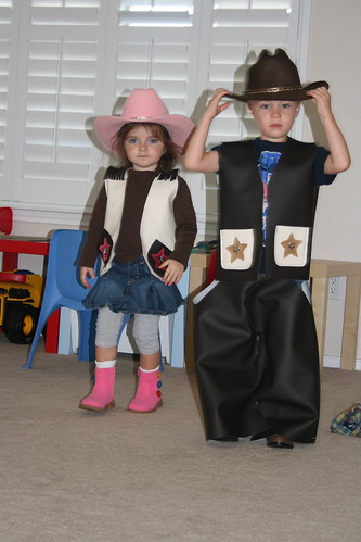 Simple Cowboy Cowgirl Costumes