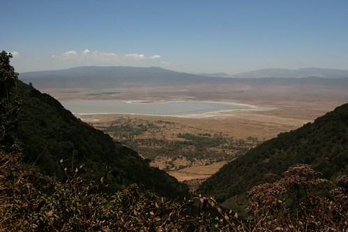 View Of Crater