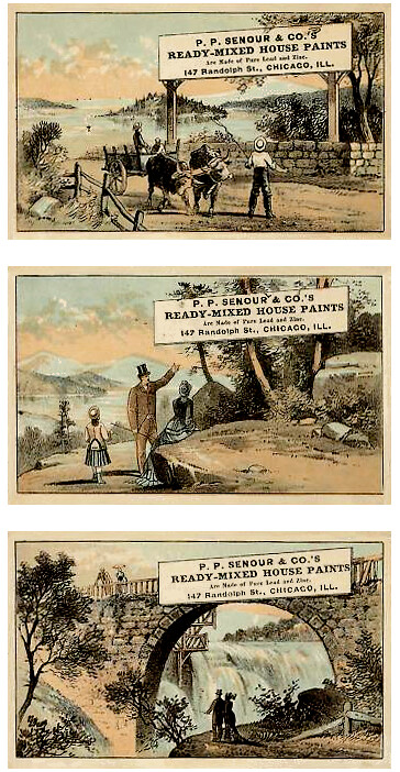 1890s_Trade Cards SET_Adverts for Paint_#1-3_364