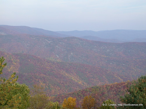 Blue Ridge Parkway - Photo by Soil Science