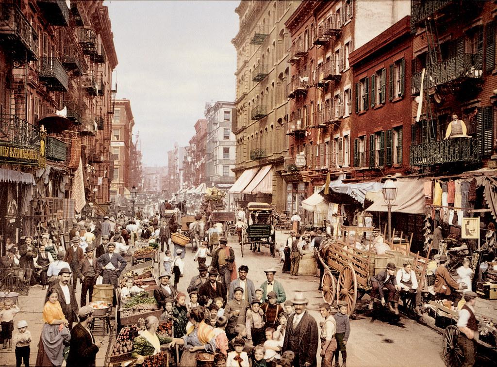 Mulberry Street, 1900.