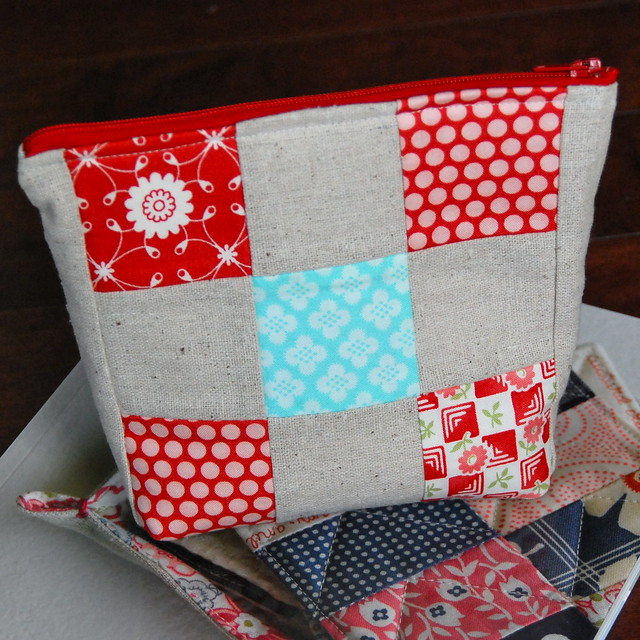 Patchwork Pouch {side b}