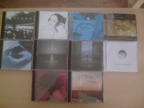 Collection d'albums de musique libre.