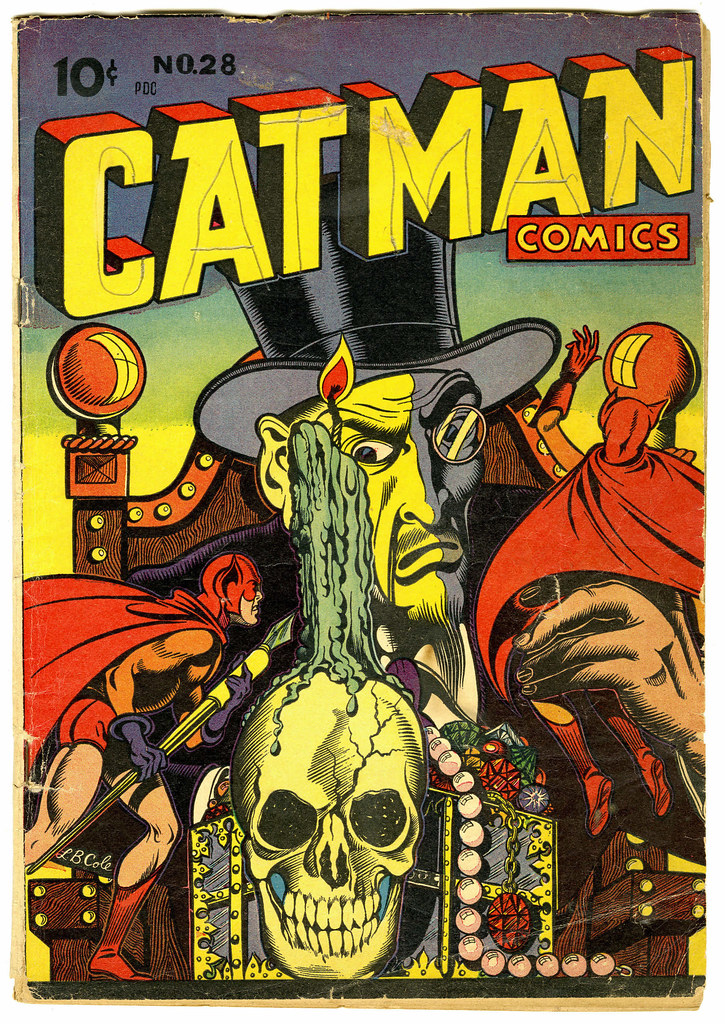 Catman Comics #28 (Holyoke Publications, 1945)