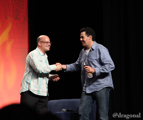 Rob Barnett and Adam Carolla