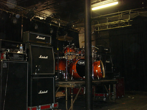 10/17/10 Triptykon @ St. Paul, MN - Stage just afert show ended.(03)