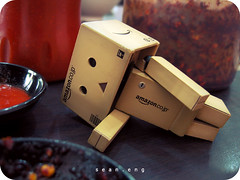 285/365: spicy (sean eng) Tags: color digital canon toy actionfigure amazon toystory ixus 365 danbo project365 revoltech seaneng danboard