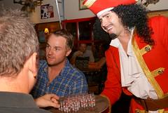 Captain Morgan at Twin Peaks (MarkScottAustinTX) Tags: fun tx twinpeaks pirate rum roundrock captainmorgan 2010
