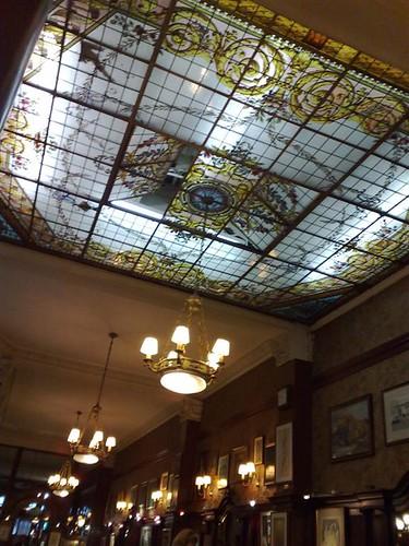 Teto do Café Tortoni