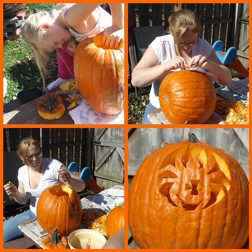 J & K pumpkin carving