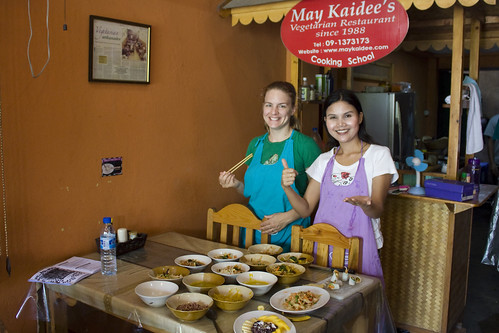 Thai Vegan Cooking Class at May Kaidee