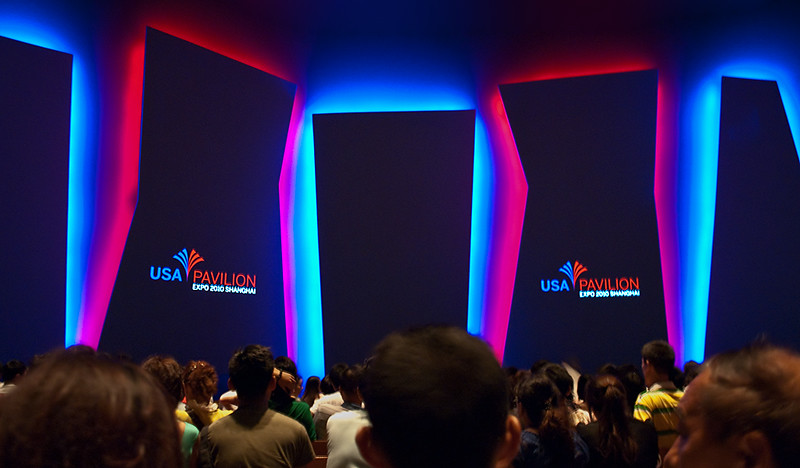 EXPO 2010; USA Pavilion