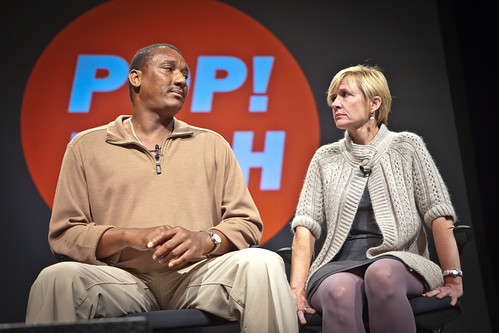 Jennifer Thompson-Cannino and Ronald Cotton - PopTech 2010 - Camden, Maine