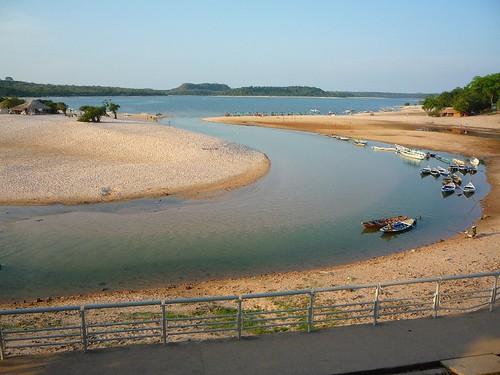 Alter do Chão - seca de 2010 - Foto: Celivaldo Carneiro
