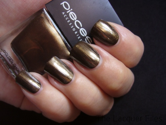 Pieces Nail Polish Nagellak Golden Chokolate