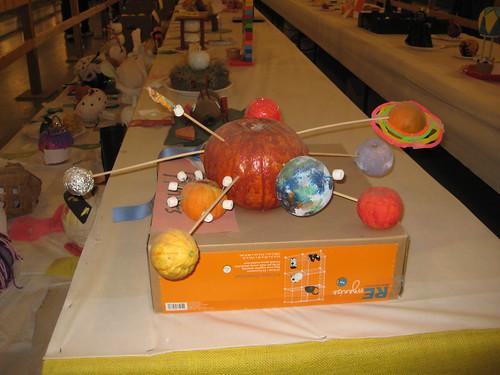 Awesome solar system pumpkin