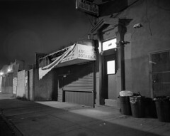 (Jonathan Abraham) Tags: brooklyn night parkslope 320txp mamiya7ii 65mmf4