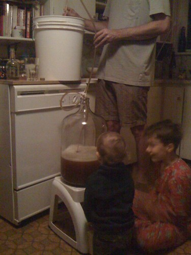 Racking the ale